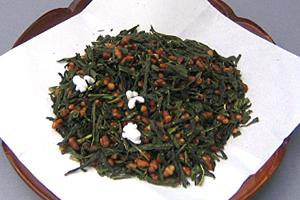 緑茶に玄米茶の素